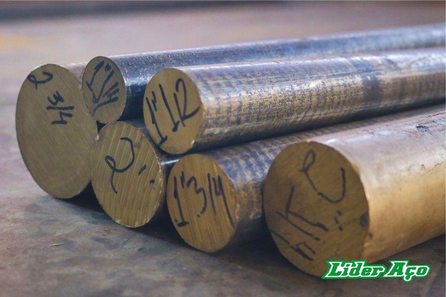 Líder Aço Produtos Siderúrgicos Dourados-MS - Barra redonda bronze TM 23 2