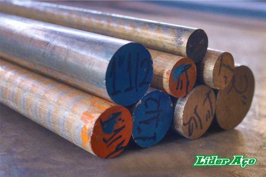 Líder Aço Produtos Siderúrgicos Dourados-MS - Barra redonda bronze TM 620 2