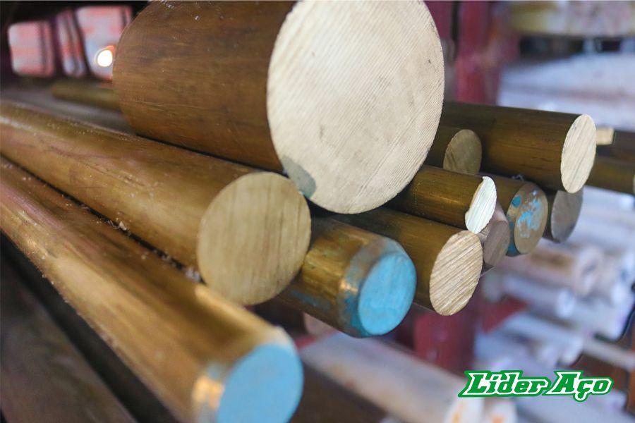Líder Aço Produtos Siderúrgicos Dourados-MS - Barras redondas em latão 2