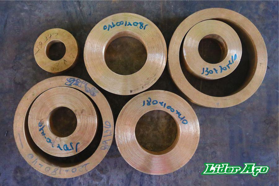Líder Aço Produtos Siderúrgicos Dourados-MS - Buchas Bronze SAE 65 2