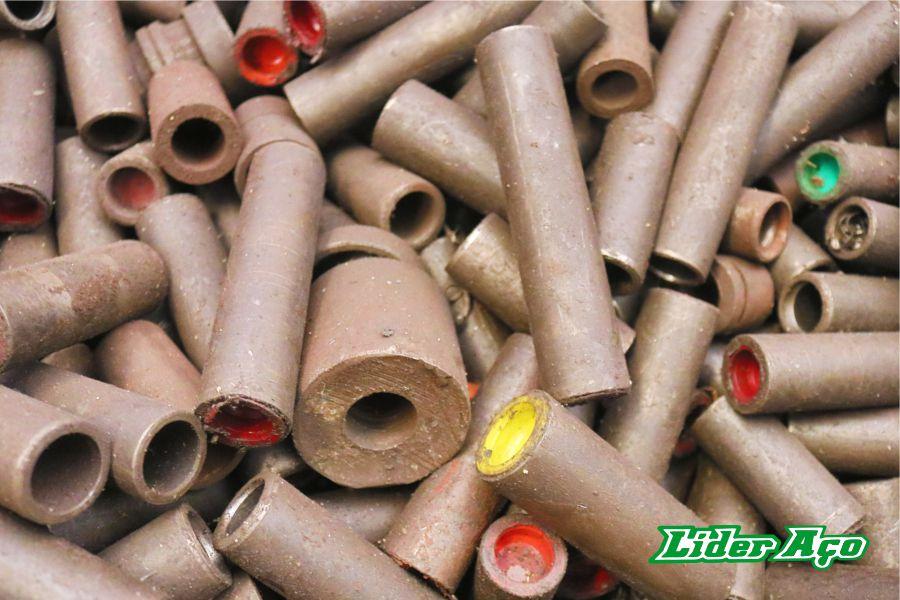 Líder Aço Produtos Siderúrgicos Dourados-MS - Buchinhas de aço