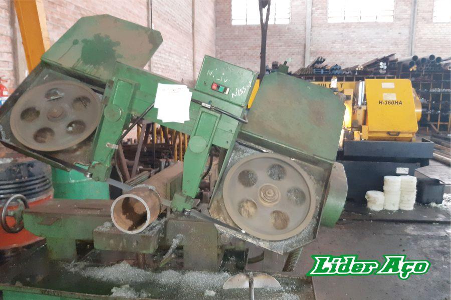 Líder Aço Produtos Siderúrgicos Dourados-MS - Serviço de corte serra fita tubo de aço