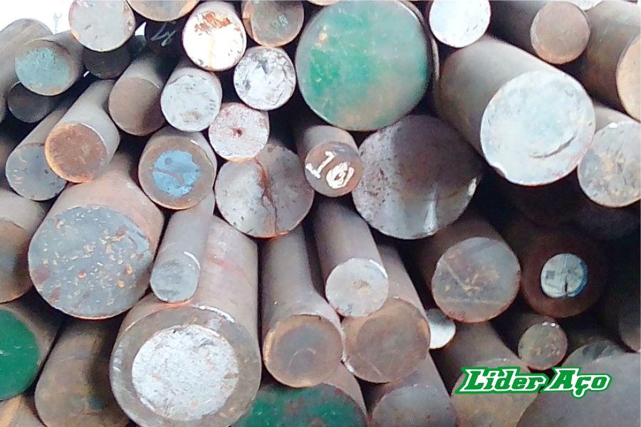 Líder Aço Produtos Siderúrgicos Dourados-MS - eixos e tarugos de aço