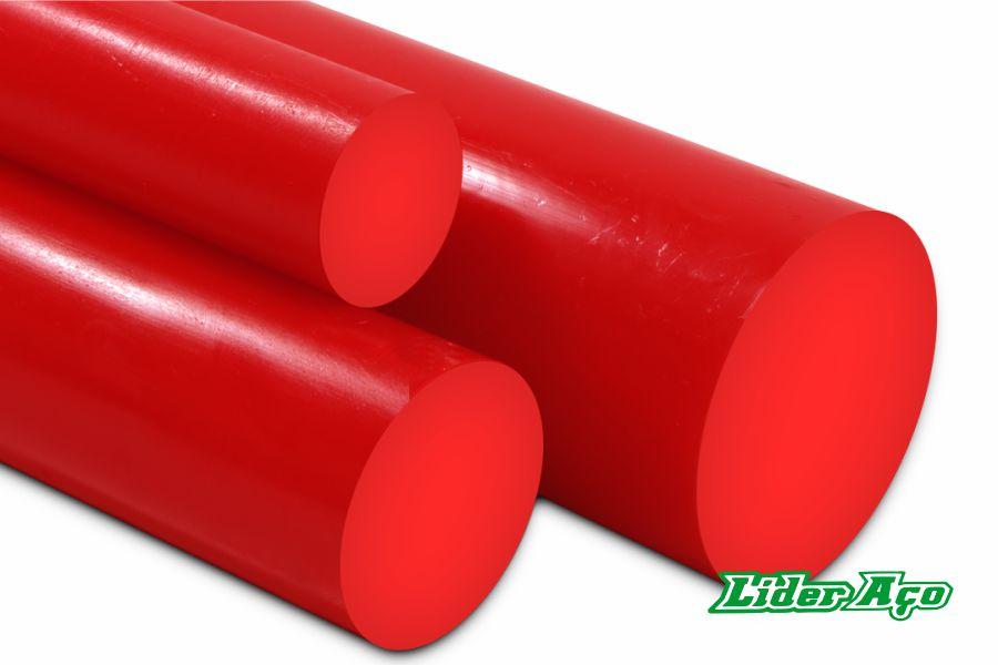 Líder Aço Produtos Siderúrgicos Dourados-MS - plástico industrial poliuretano Nitaprene vermelha